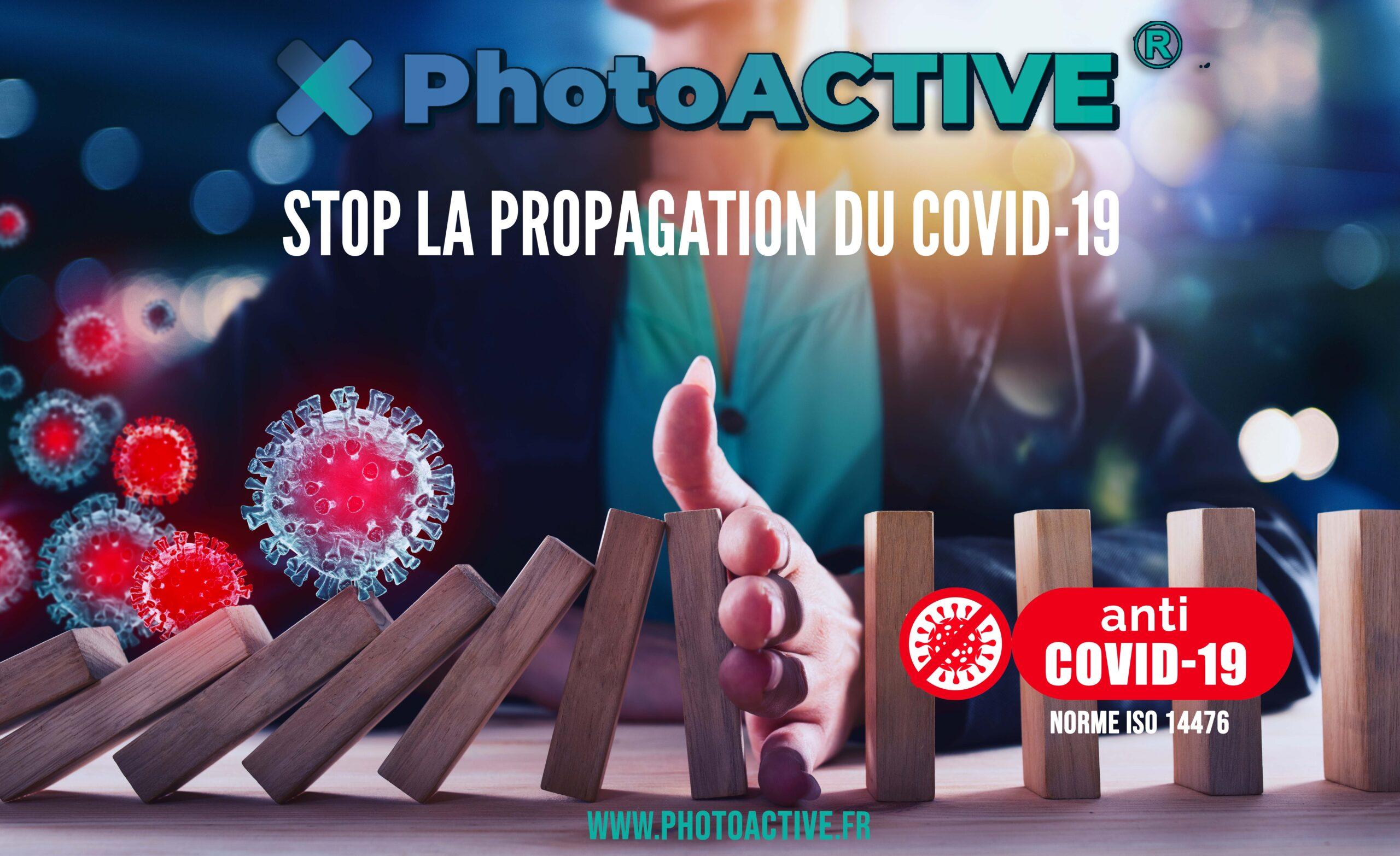PhotoACTIVE anticovid19 Liquide Antimicrobien Film Antimicrobien 1 an
