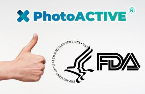 PhotoACTIVE is compliant to FDA