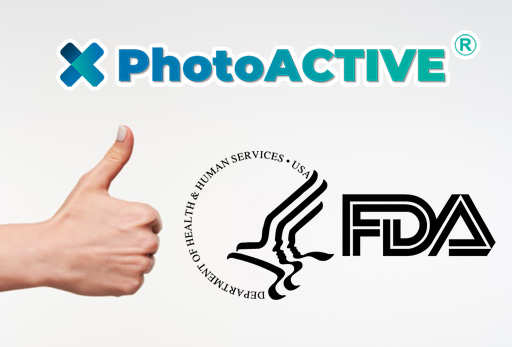PhotoACTIVE is compliant to FDA