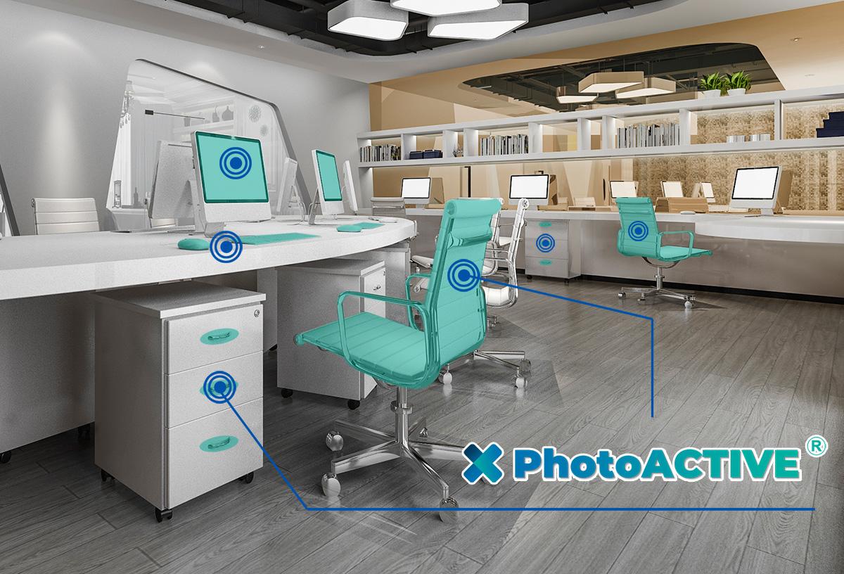PhotoACTIVE appliqué dans les bureaux